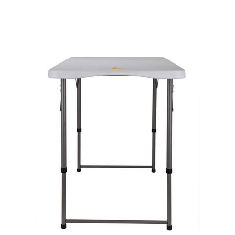4 ft folding banquet table palm springs portable 4ft adjustable height plastic