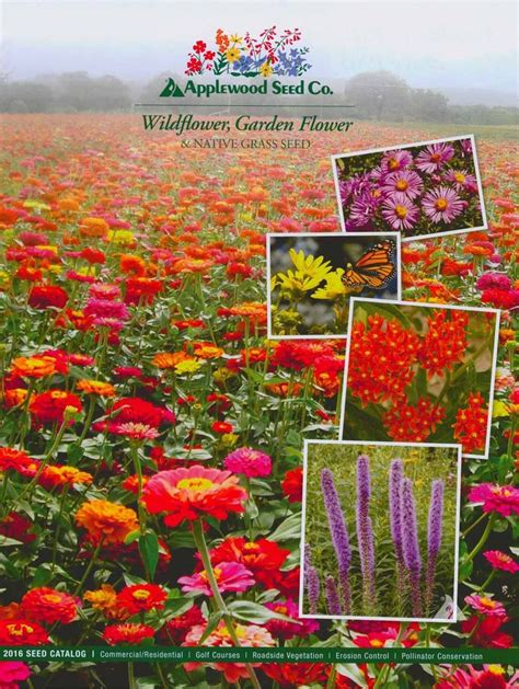 Applewood Seed Company Seed Plant And Gardening Flower Garden Catalogs