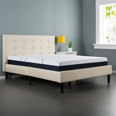 buy headboard separately com zinus upholstered button tufted platform bed with