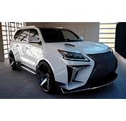 Lexus LX 570 With Verge Widebody Kit From Russia  Newfoxy