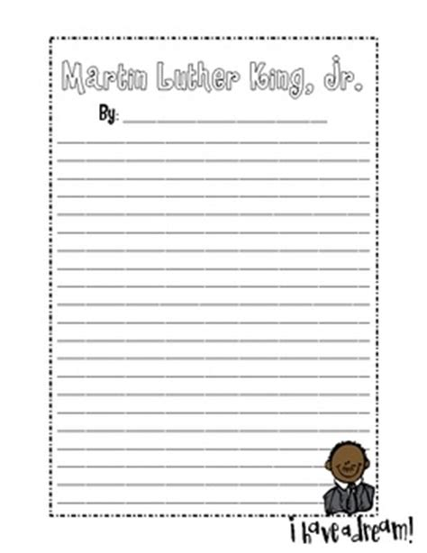mlk writing paper martin luther paper and martin luther king on