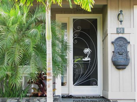 Use Your Aluminum Screen Door To Maximize Curb Appeal Front Door Screen Insert