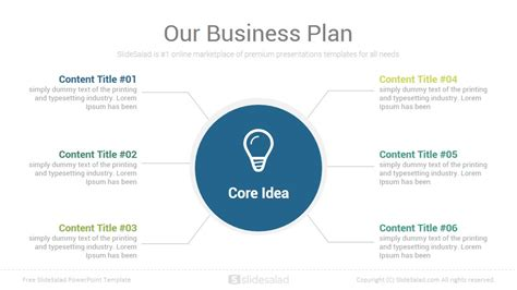 Business Plan Free Powerpoint Presentation Template Slidesalad Business Plan Ppt Free