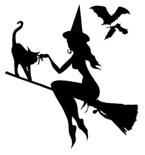printable pumpkin stencils witch good witch flying pumpkin template halloween