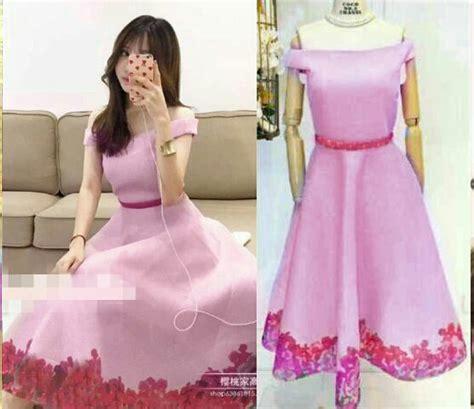 Model Baju Mini Dress Terkini Dan Murah Dress model baju dress pendek wanita dewasa terbaru cantik modern