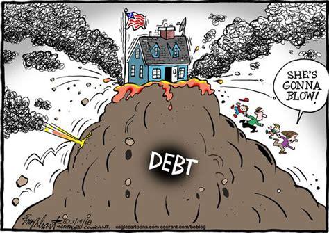 credit card debt economic cartoons 2016 politicalcartoons com cartoon