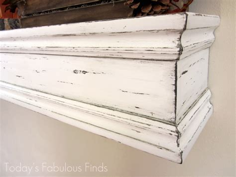 wood mantel shelf diy