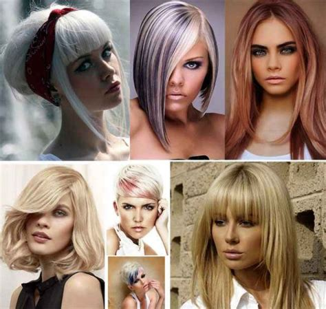 trendy hairstyles and colours 2016 2017 hair color shades of blond trendy hairstyles