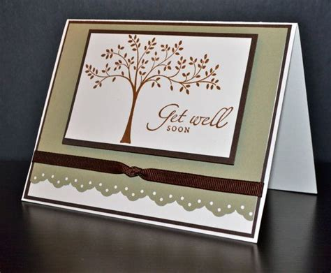 Handmade Get Well Cards - get well card handmade card stin up card