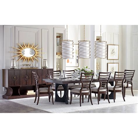 stanley furniture dining room stanley furniture virage formal dining room group