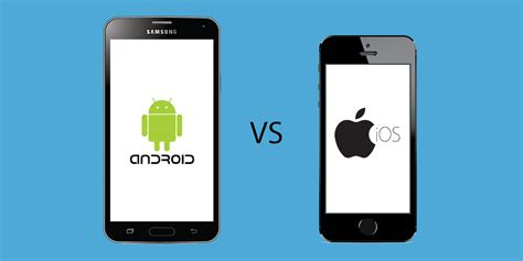 ios vs android which should you build your mobile app on