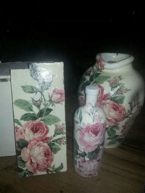 decoupage vase ideas decoupage my decoupage vase bottle chopping board