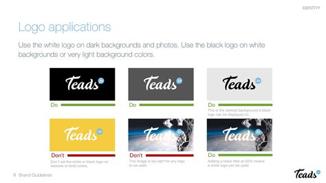 website design guidelines by google brand guidelines teads