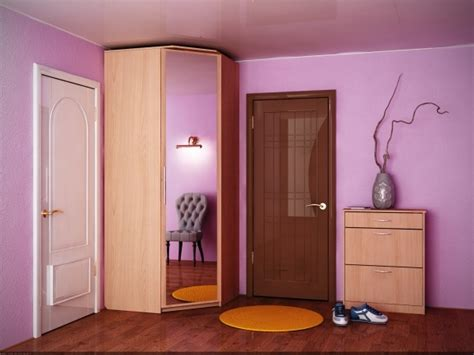 stylish modern corner wardrobe keeping every spot in bedroom occupied corner wardrobes for small