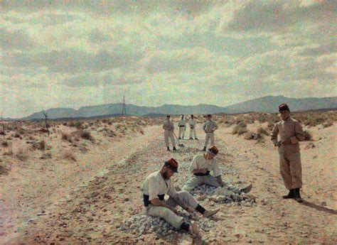 in the desert the hinterland of algiers classic reprint books a foreign legion works to build roads in the