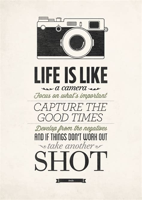 life is like a camera poster by neuegraphic - What Is It Like To Live On A Boat