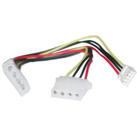 Kabel Power Molex Pin 4 Kabel Fan Vga 3 Pin 8 inch 4 pin molex to floppy and 4 pin molex power y cable