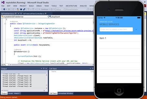 xamarin tutorial iphone scottgu s blog windows azure general availability