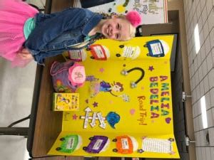 ava jackson wins first place in ms reading fair