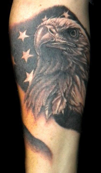 black and gray american flag tattoo black and grey eagle flag tattoos search