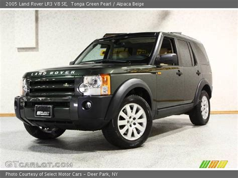 car manuals free online 2005 land rover lr3 on board diagnostic system tonga green pearl 2005 land rover lr3 v8 se alpaca beige interior gtcarlot com vehicle