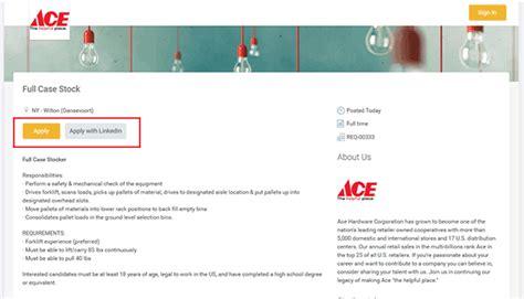 ace hardware application ace hardware job application adobe pdf apply online
