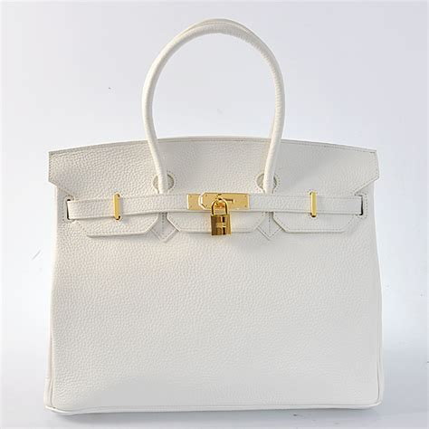 Tas Hermess Birkin Clemence 30cm Best Seller authentic hermes birkin 35cm clemence leather in white with gold hardware coupon best