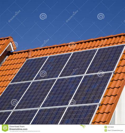 modern solar panels price solar panels on modern roof royalty free stock images image 15472629