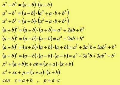test scomposizione polinomi book di matematica di petracca francesco classe 1tb