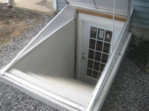 cleargress basement door cleargress cellar door - Basement Egress Door Cost