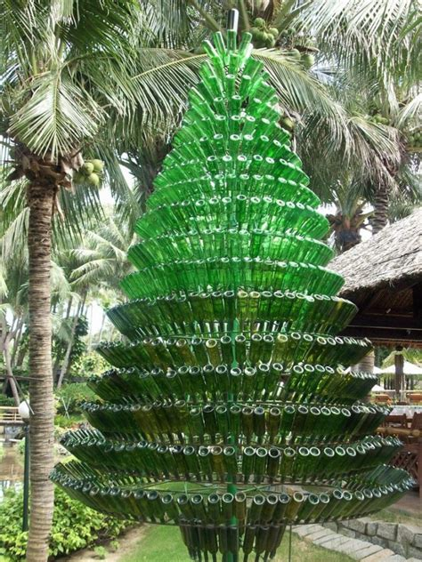 60 creative diy glass bottle ideas for your outdoor living