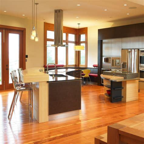 18  Curved Kitchen Island Designs, Ideas   Design Trends