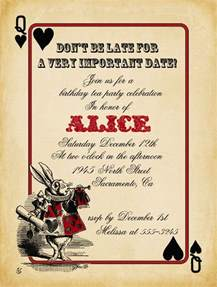 21 best images about alice in wonderland party on