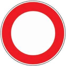 panneaux de signalisation ronds outibat interdit 224 achat