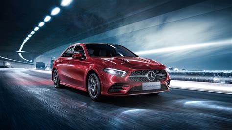 Mercedes 2019 Sports Car by 2019 Mercedes A200 L Sport Sedan 4k 2 Wallpaper Hd