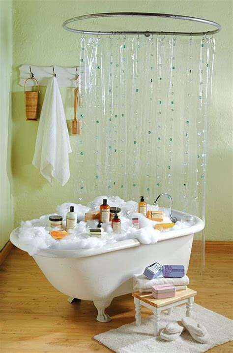 bathroom displays hula hoop shower crafts country store pinterest