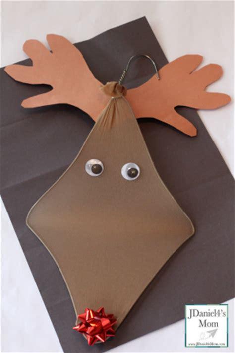 coat hanger tree craft crafts for hanger reindeer