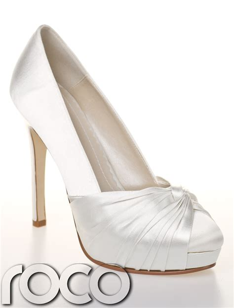 Designer Bridal Shoes by Designer Bridal Shoes Ivory Wedding Bridesmaid High
