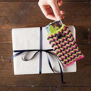 Knit Picks Gift Card - ravelry chevron gift card holder pattern by emily ringelman