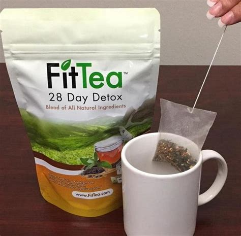 Time Detox Tea by Fit Tea The Best Detox And Weight Loss Product Fashion