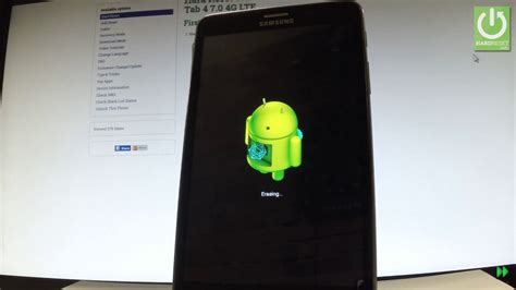 reset samsung tablet to factory settings hard reset samsung galaxy tab 4 format restore galaxy