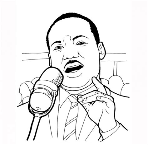 coloring pages for martin luther king jr american legend martin luther king jr coloring pages