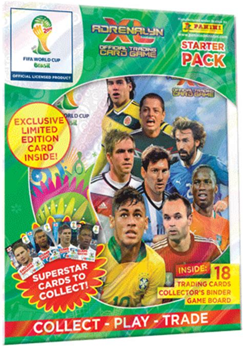 panini reveals fifa world cup official adrenalyn xl