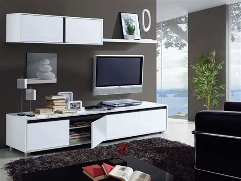 Living Room White Tv Stand Home Est Lena White Gloss Living Room Tv Stand Wall