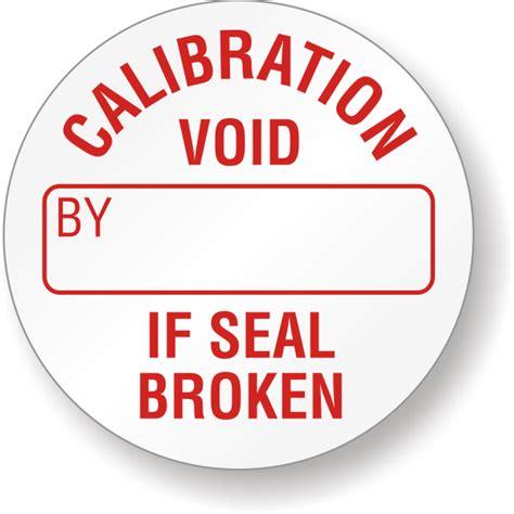 Destructible Quality Control Seals Custom Security Seals Calibration Label Template