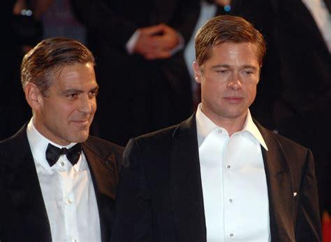 Brad Pitt George Clooney Do Entertainment Weekly by George Clooney Will End Brad Pitt S Career With Prank Wset