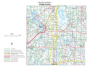 wisconsin county bicycle maps