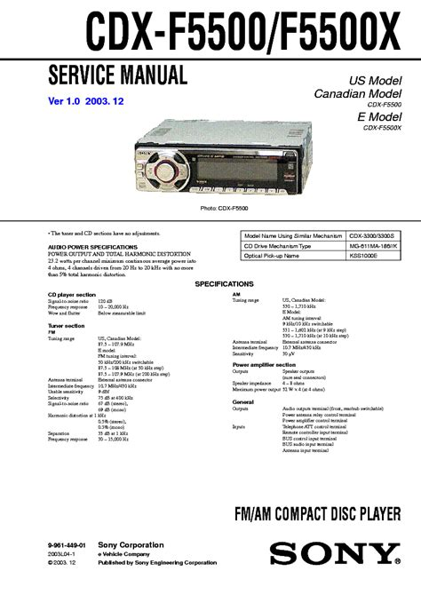sony cdx gt660up wiring diagram 28 images sony cdx