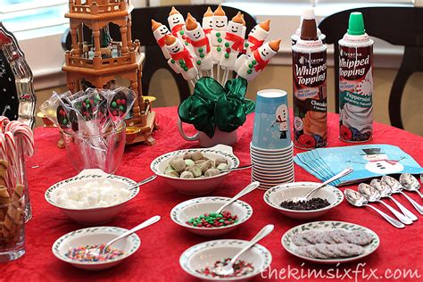 hot cocoa bar toppings february 2013 the kim six fix