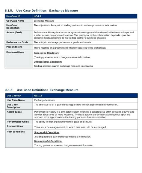 12 use case template academic resume template